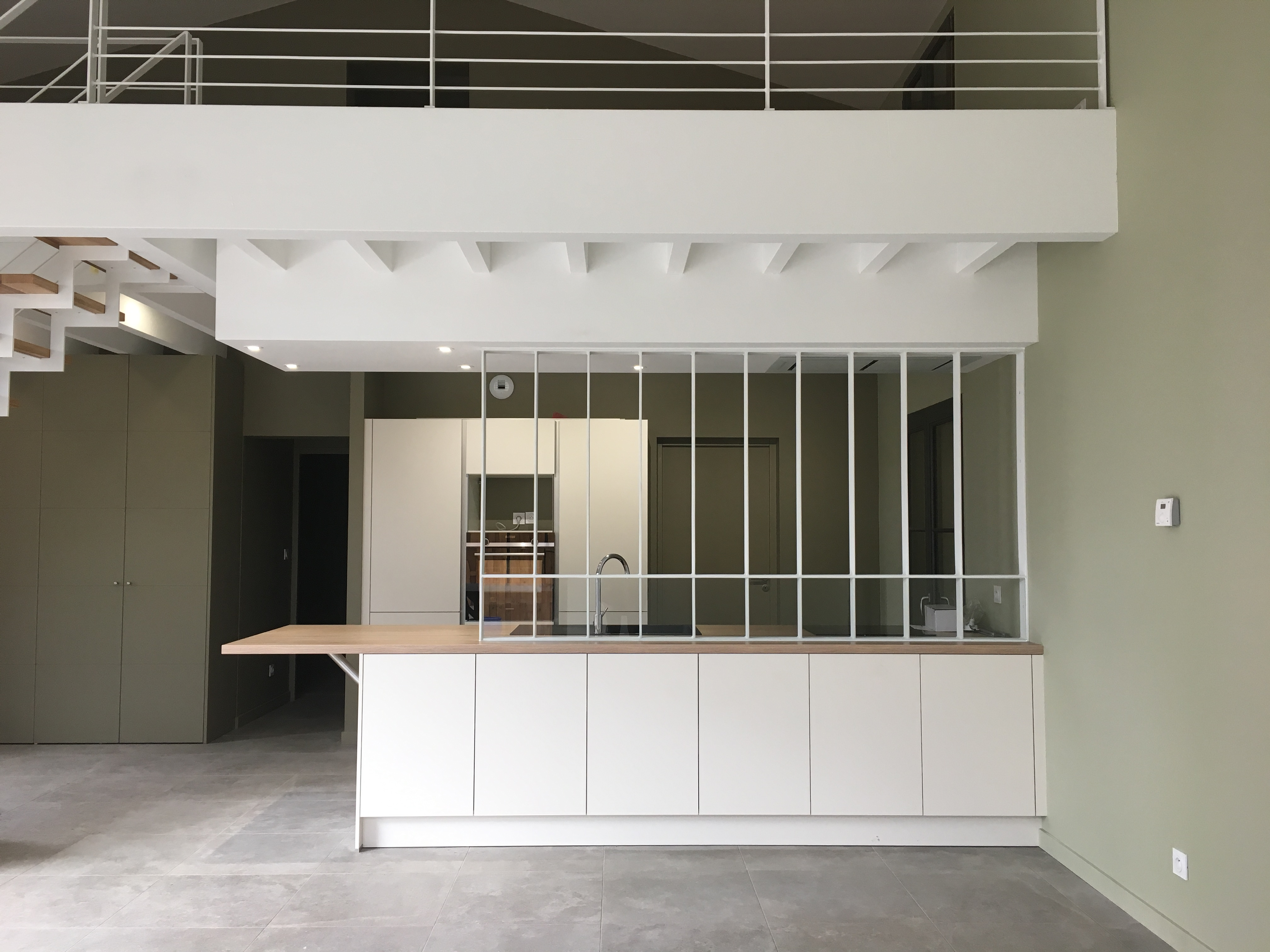 Intérieur de maison d'architecte à Toulouse